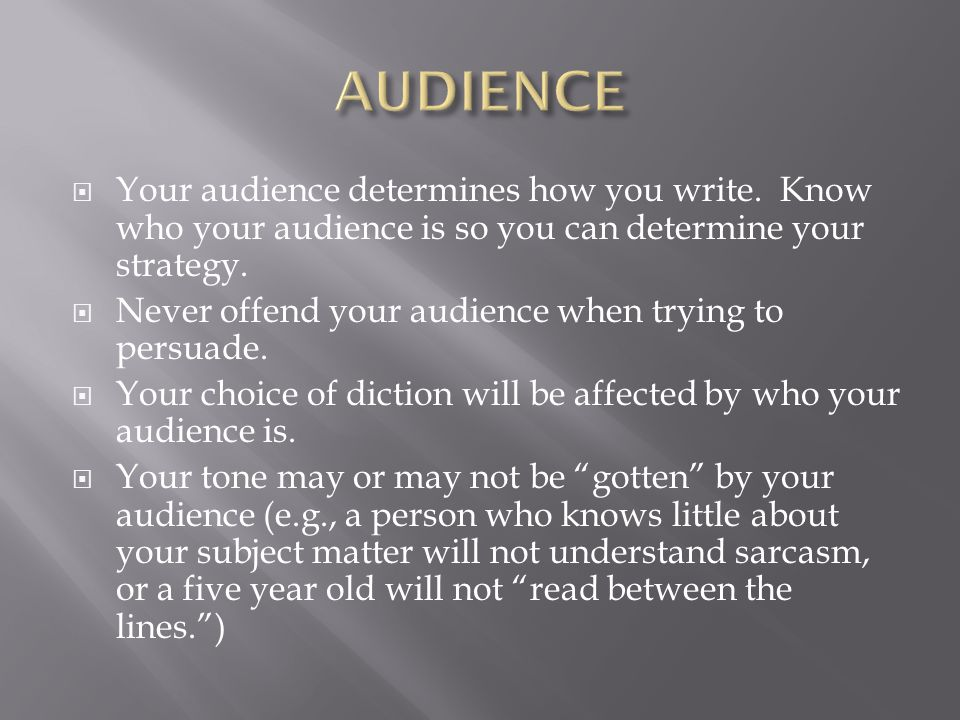 determine audience paper Find your target audience on facebook with facebook insights facebook provides every page owner with a powerful set of insights (analytics) that are free for you to use anytime you want.