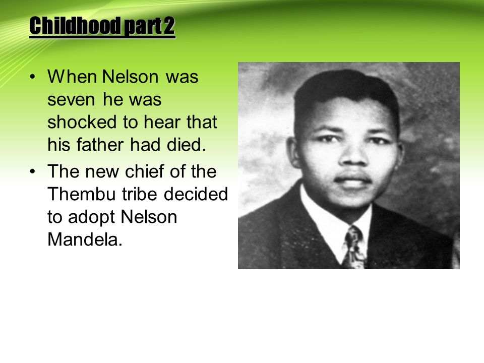 Nelson Mandela by Cian Timlin 6th class - ppt download