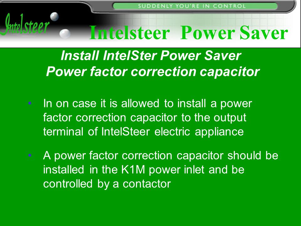 Installation Of Power Factor Correction Capacitors 28