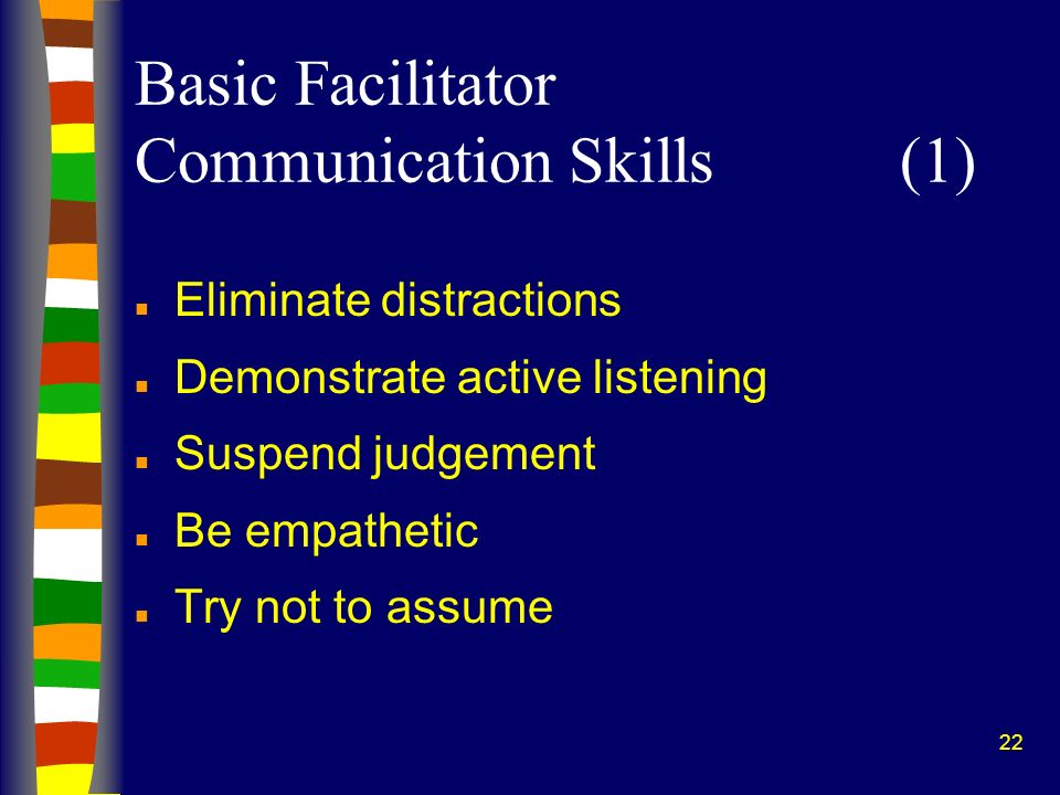 Basic Facilitator Communication Skills (1)
