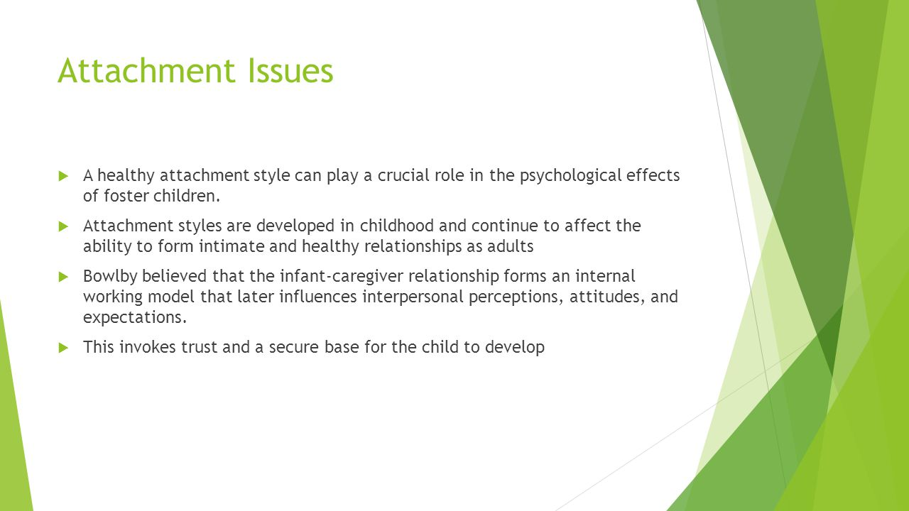 the role of attachment styles in Social roles social so psychologists have to devise subtle ways of researching attachment styles mary ainsworth concluded that the strange situation.