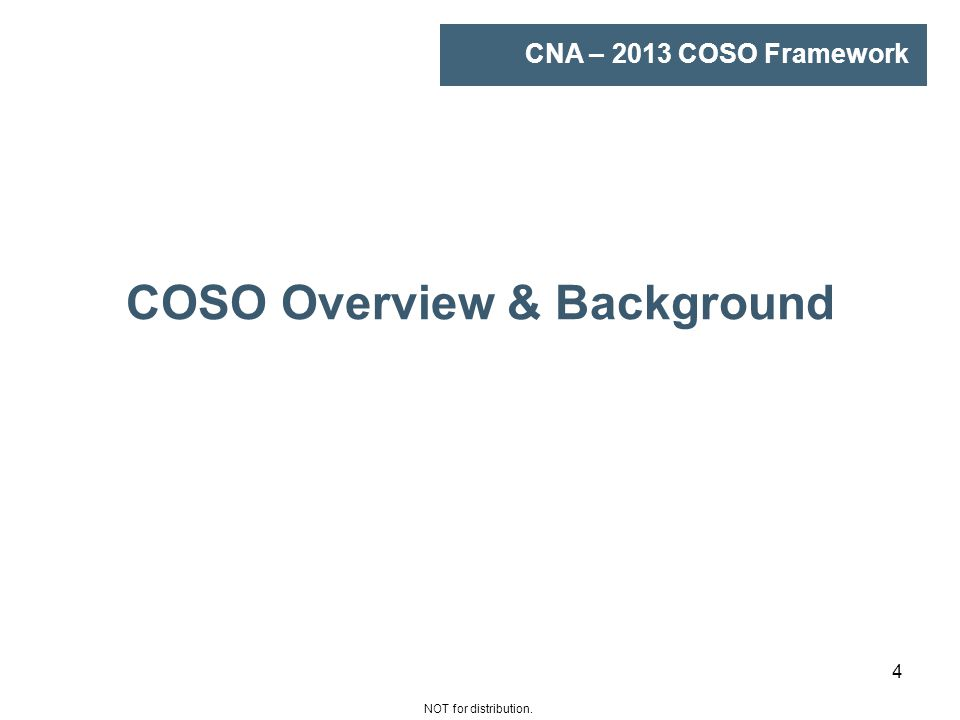 coso plan adoption Focus and featuresthe updated coso internal control – integrated framework   using or intend to use coso, should now transition to or adopt the new coso  2013  model, and how to develop a coso implementation or transition plan.