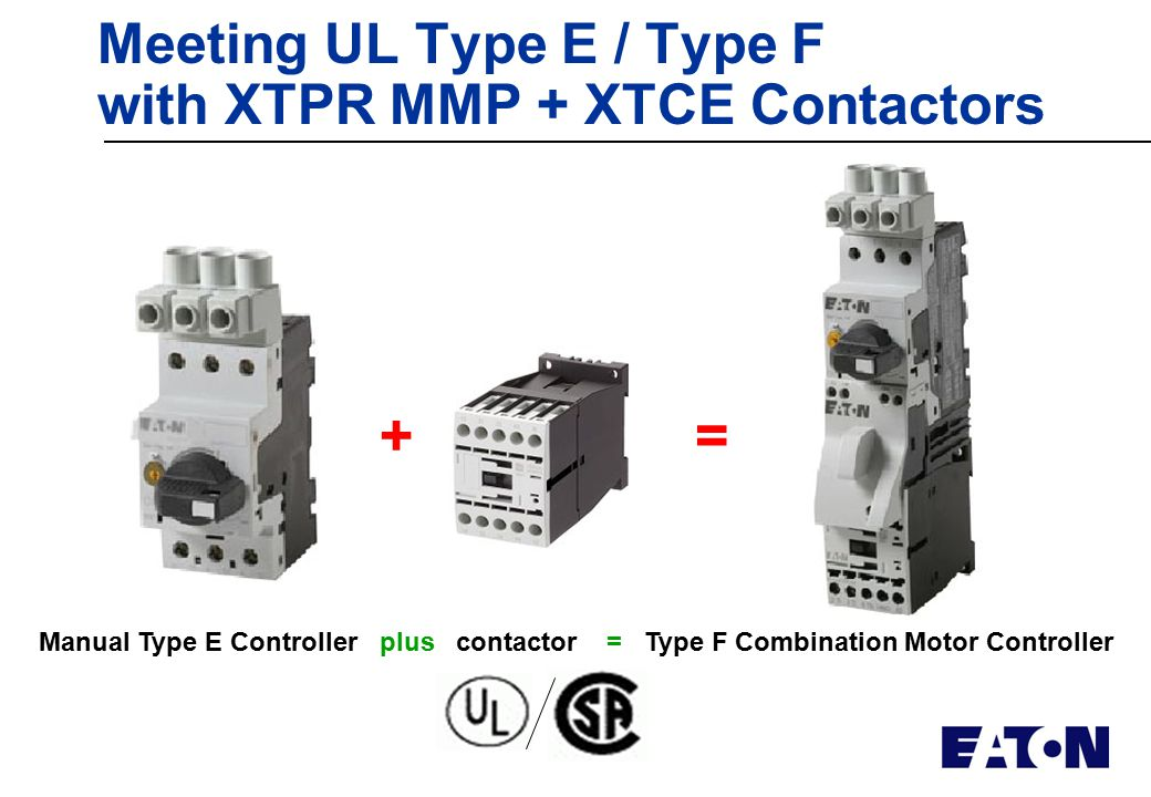 Global overview ccc rohs weee ul type e f group ul for Types of motor controllers