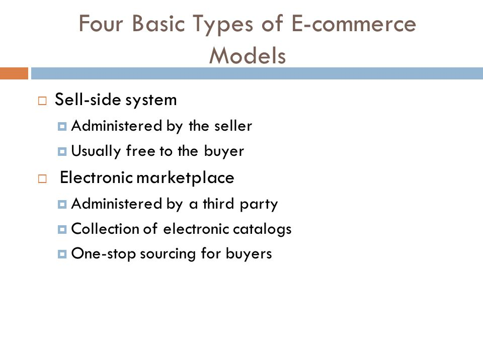 Features of e-commerce as an electronic trading system