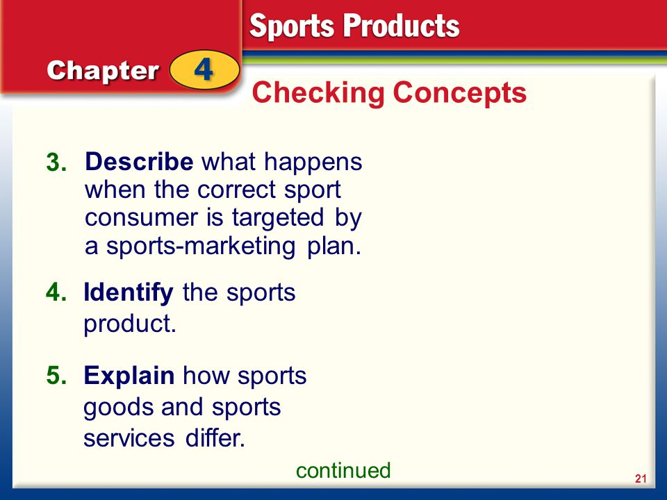 The Consumer and Sports Products - ppt video online download
