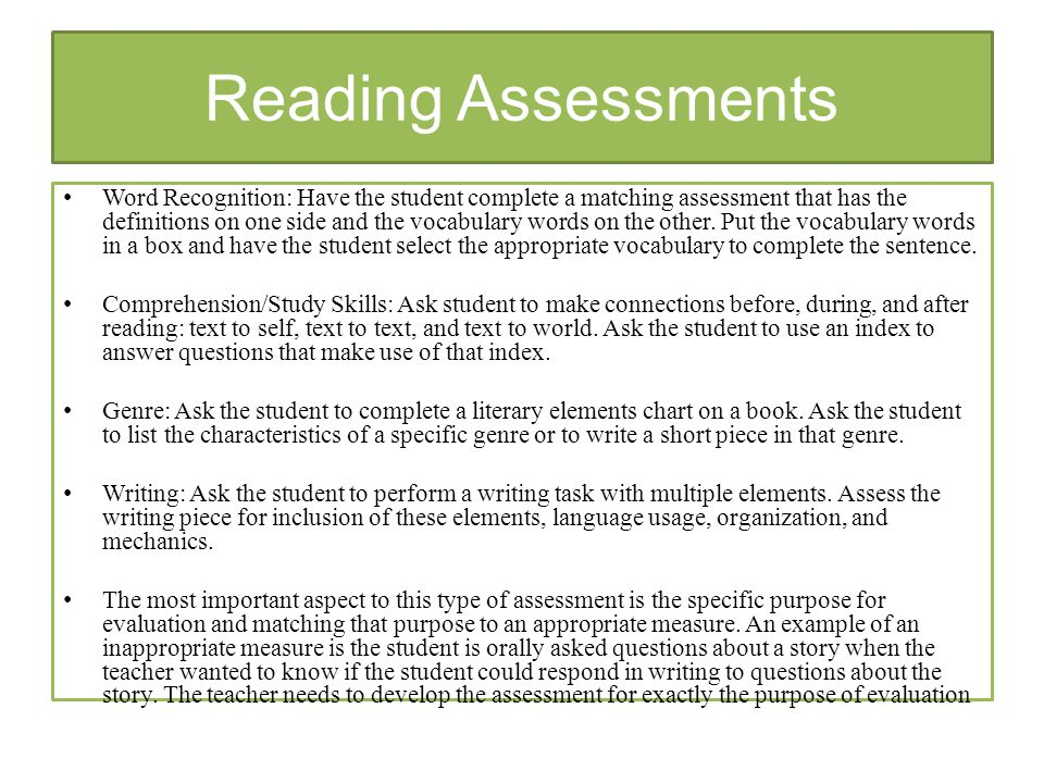 Benefits From Formal And Informal Assessments  Ppt Video Online