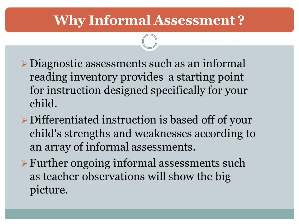 picture regarding Printable Informal Reading Inventory called everyday essment -