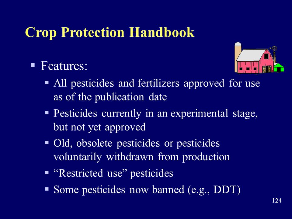 Crop Protection Handbook
