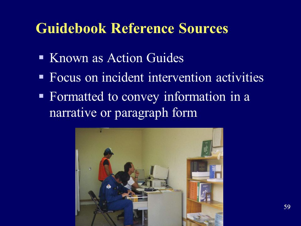 Guidebook Reference Sources
