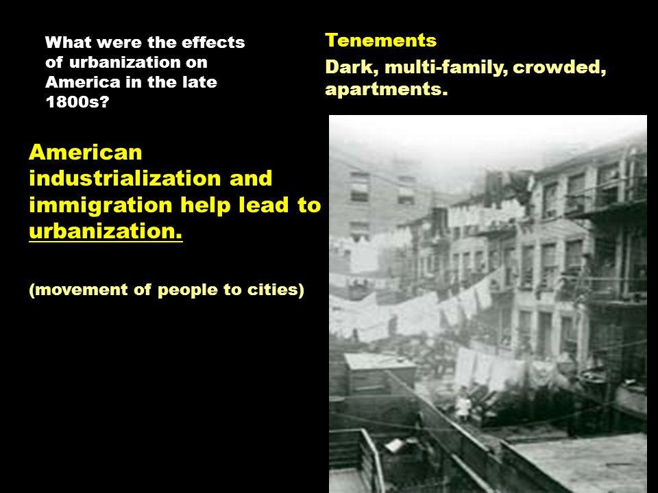 impact of urbanization on family pdf