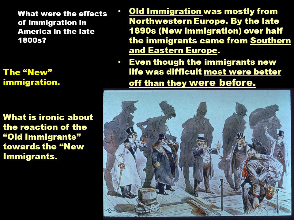 immigration its positive effect on america The history of mexican immigration to the us in the early  the cristero war had a twofold effect:  particularly immigration from mexico and latin america,.