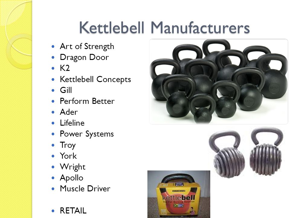 Using Kettlebells In The Rehabilitation Of The Core Ppt