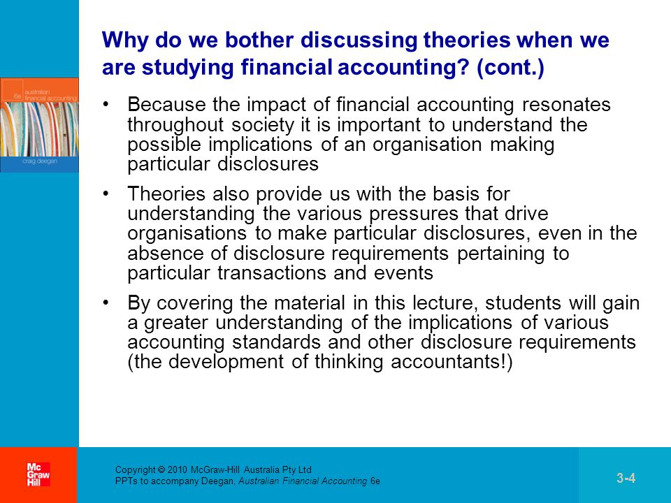 accounting theory and development Development of accounting accounting and development of techniques of accounting theory and practice' pg 21-25 basic concept of islamic accounting are ethics, justice, truth and fairness in conducting business and recording the transactions.