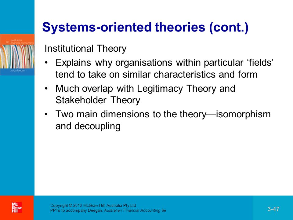 system oriented theories Evolution of management theory drm thenmozhi professor  the system approach the contigency approach dynamic engagement approach key management theory an overview.