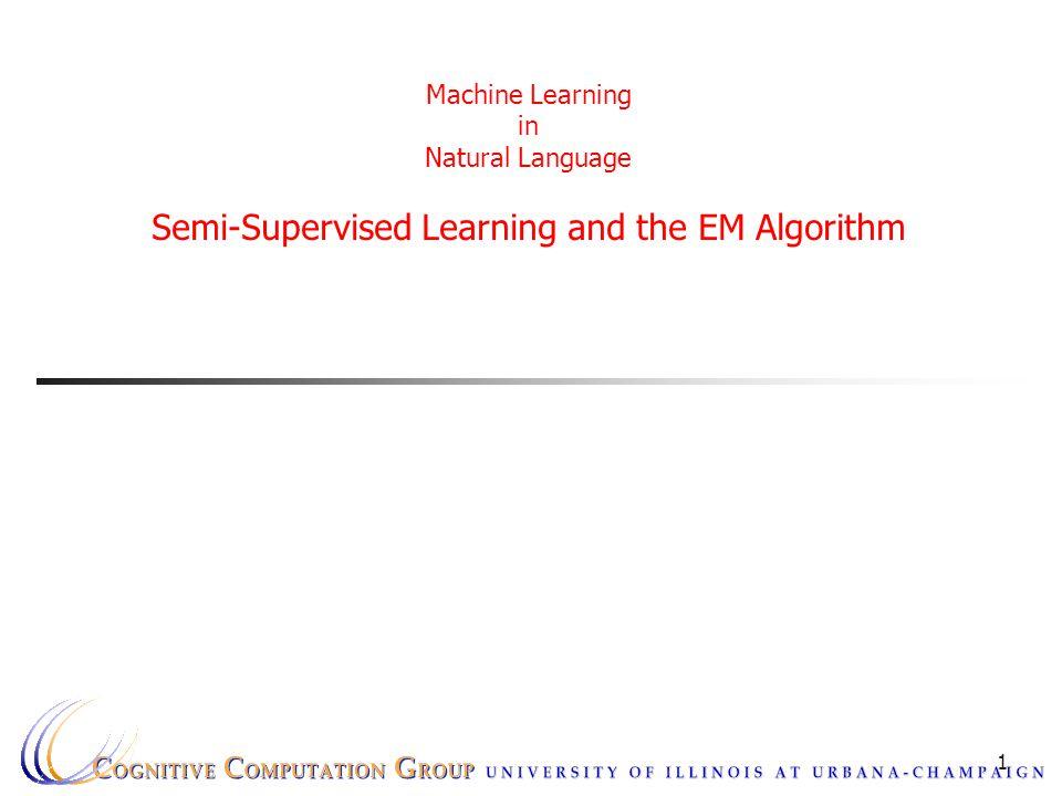Semi-Supervised Learning