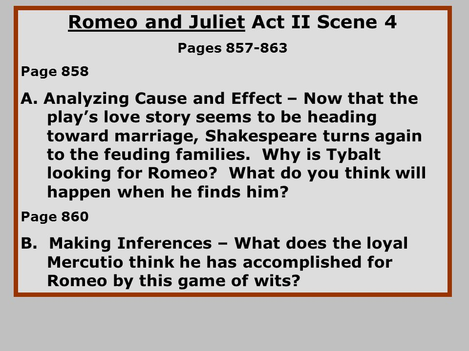 "romeo and juliet feuding families essay The objective story accelerates when friar lawrence intuitively discerns, if he aids romeo and juliet in their desire to marry, their rival families will ultimately reconcile: ""in the action that starts the story is halted when, after the feuding families have engaged in ""three civil brawls""(1191), the prince threatens capulet and."