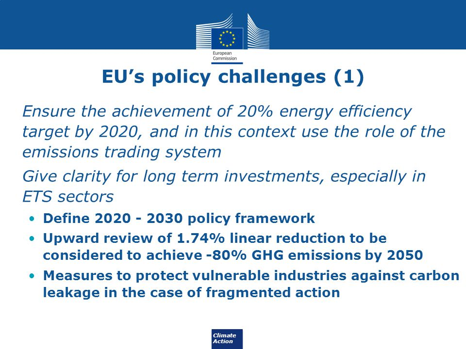 EU's policy challenges (1)