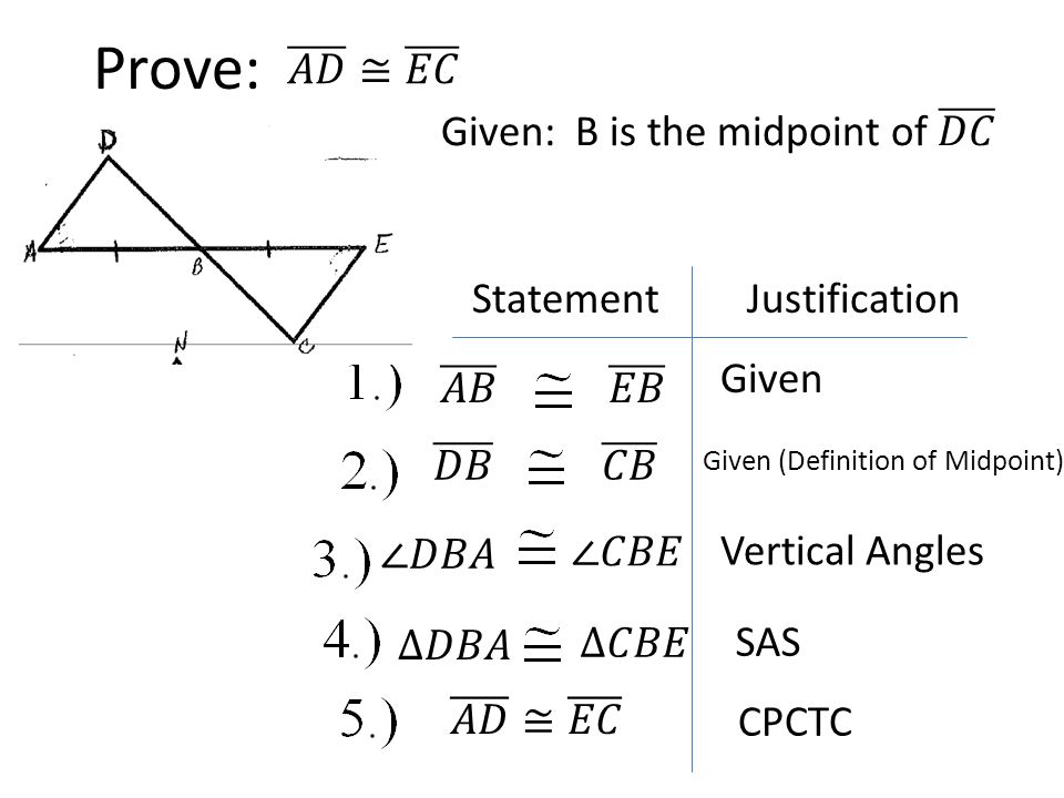 Proving Triangles Are Congruent Notes Ppt Video Online Download