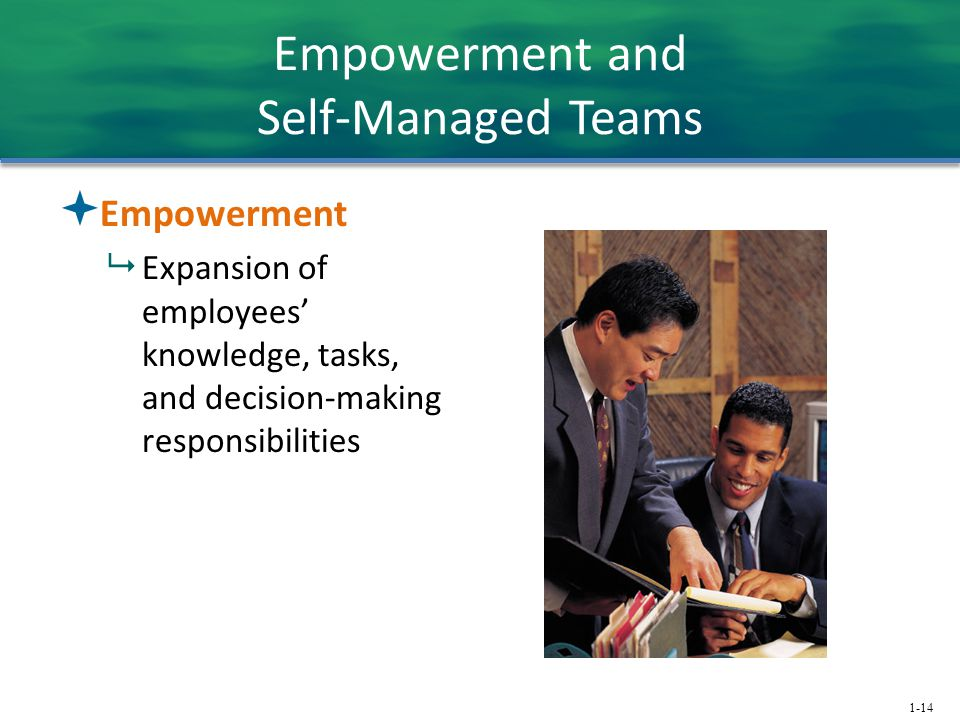 Empowerment and Self-Managed Teams