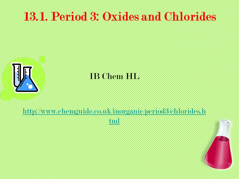131 period 3 oxides and chlorides ppt video online download period 3 oxides and chlorides urtaz Images