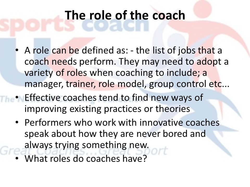 the role of a basketball coach We have a terrible problem in youth basketball and it's getting worse people involved in youth basketball are forgetting the role they play in the game far too often.