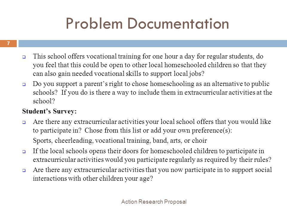 Action Research Proposal Ppt Video Online Download