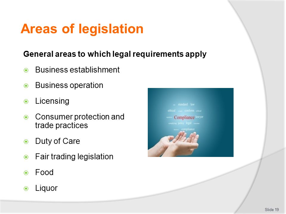 Legal requirements business plan