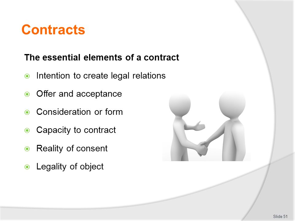 Discuss The Essential Elements Of A Valid Contract Essay A Valid Contract  Is A Written Or ...