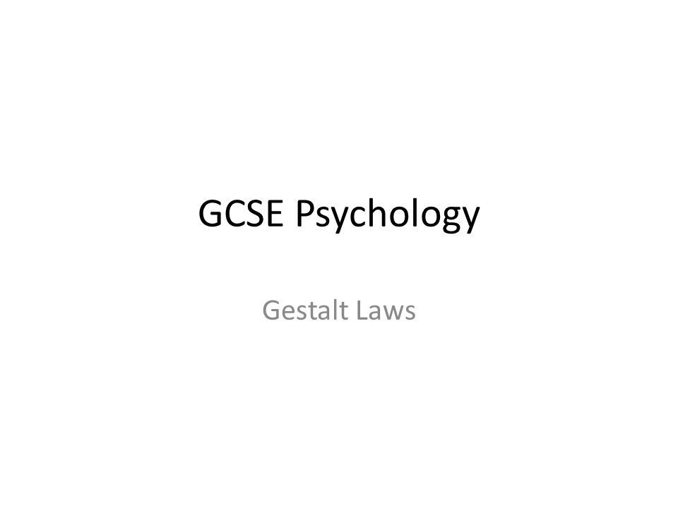 psychology and ground rules Similarity / continuation / closure / proximity / figure & ground gestalt is a psychology term which means unified wholeit refers to theories of visual perception developed by german psychologists in the 1920s.