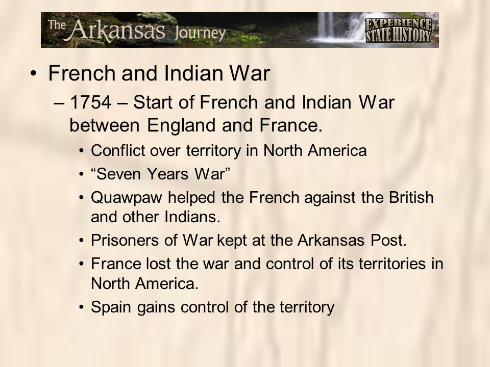 the french and indian war start Kids learn about the history of the french and indian war of the american colonies the first real conflict began when the french moved into the ohio country.