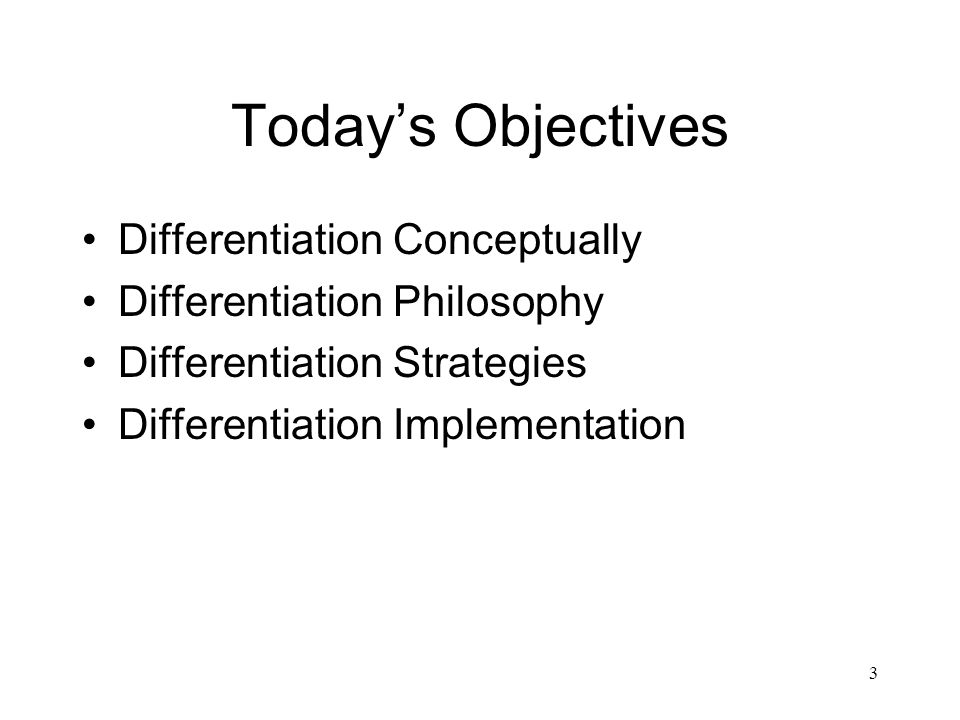 differentiated instruction professional development activities