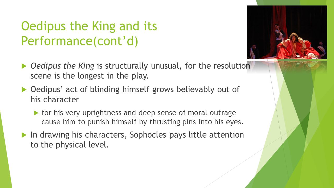 the moral lesson of oedipus the king Home oedipus rex or oedipus the king q & a what is the moral implication of oedipus rex or oedipus the king what is the moral implication of the story.