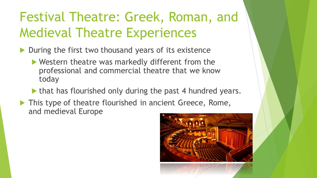 the origin of the roman theaters and its importance in the ancient rome Ancient pantomime and its reception alessandra zanobi (durham) ancient pantomime, one of the greatest attractions on the ancient stage from the end of the first century bc until the end of the sixth century ad, was a lavish and highly skilled performance in which gestures, bodily movements, words, songs, and music contributed to stir the.