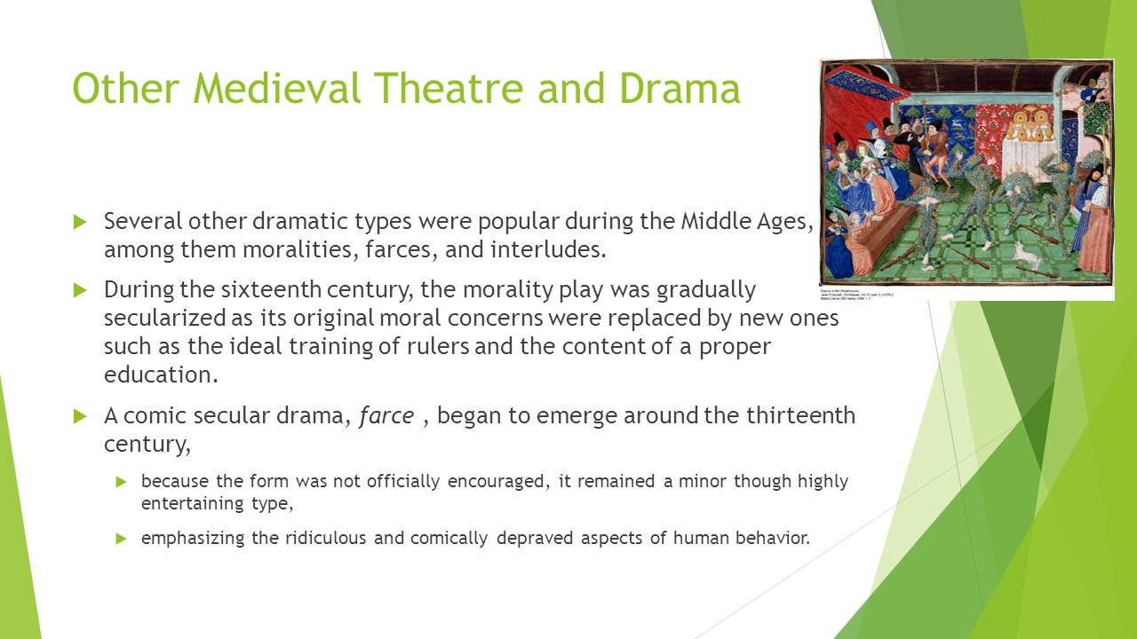 Festival theatre greek roman and medieval theatre for Farcical behavior