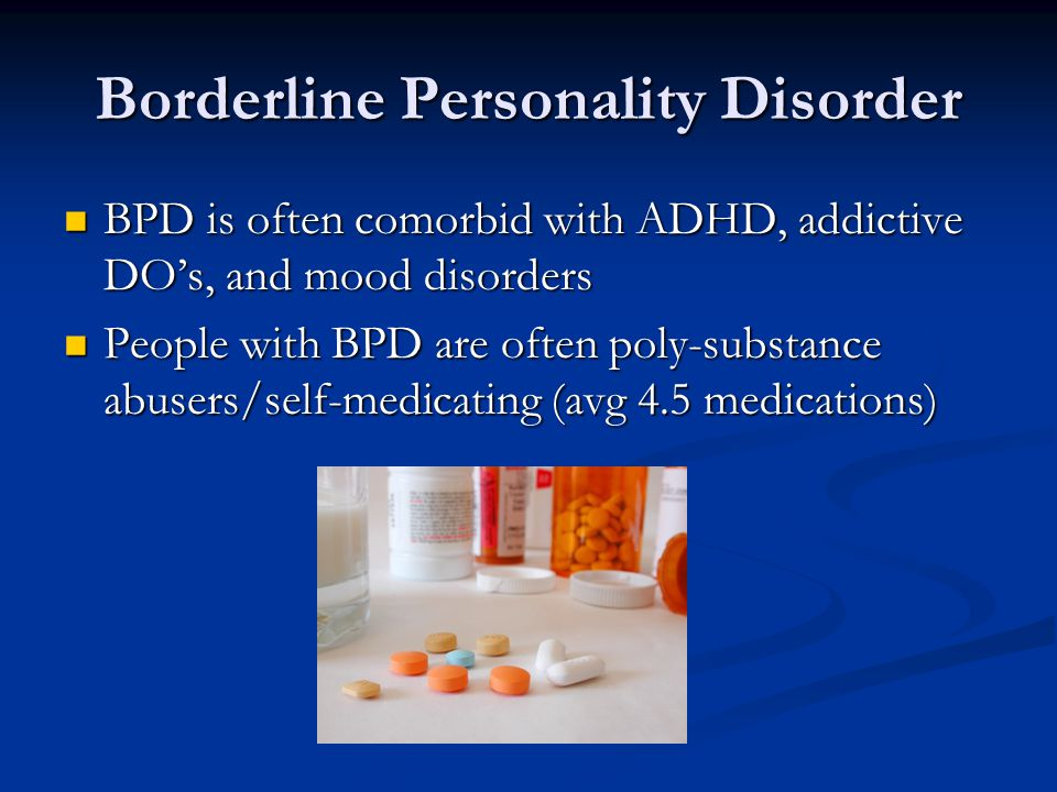 borderline personality disorder ppt