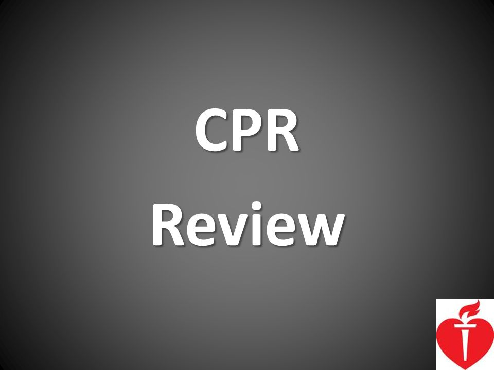 CPR Review