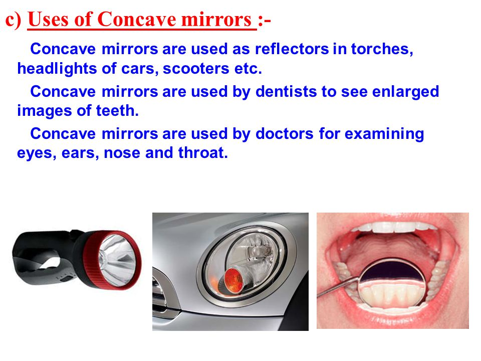 Chapter 15 light ppt video online download for Uses of mirror