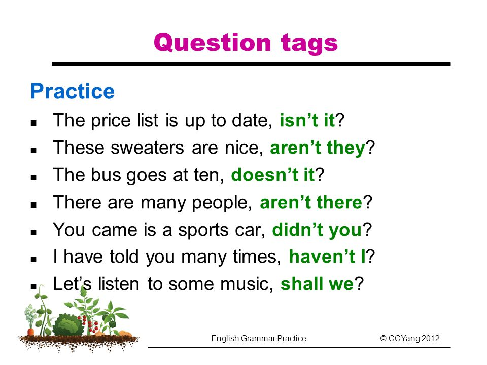 English Grammar Practice - ppt download