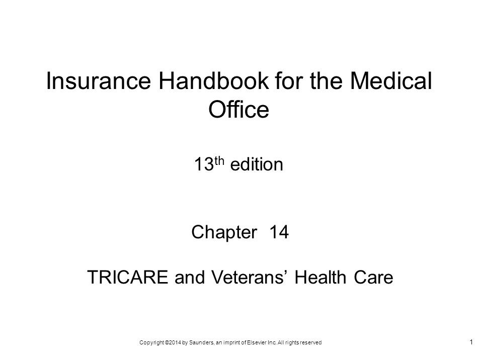 Insurance Handbook for the Medical Office