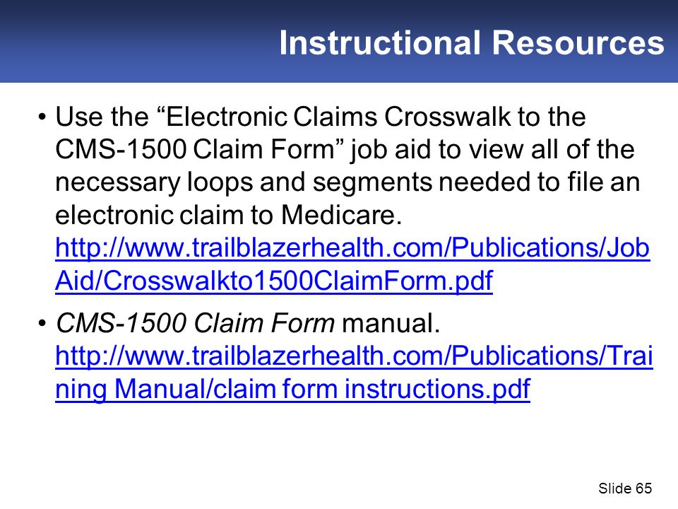 Claim Submission Errors - Ppt Download