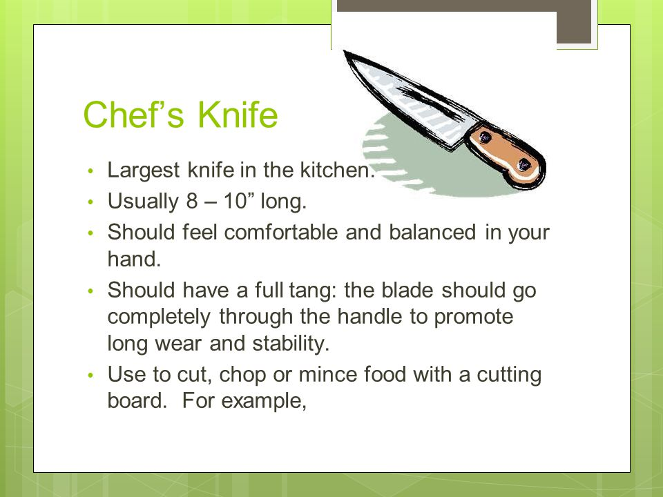knife safety tips to keep you safe the kitchen ppt video online download. Black Bedroom Furniture Sets. Home Design Ideas