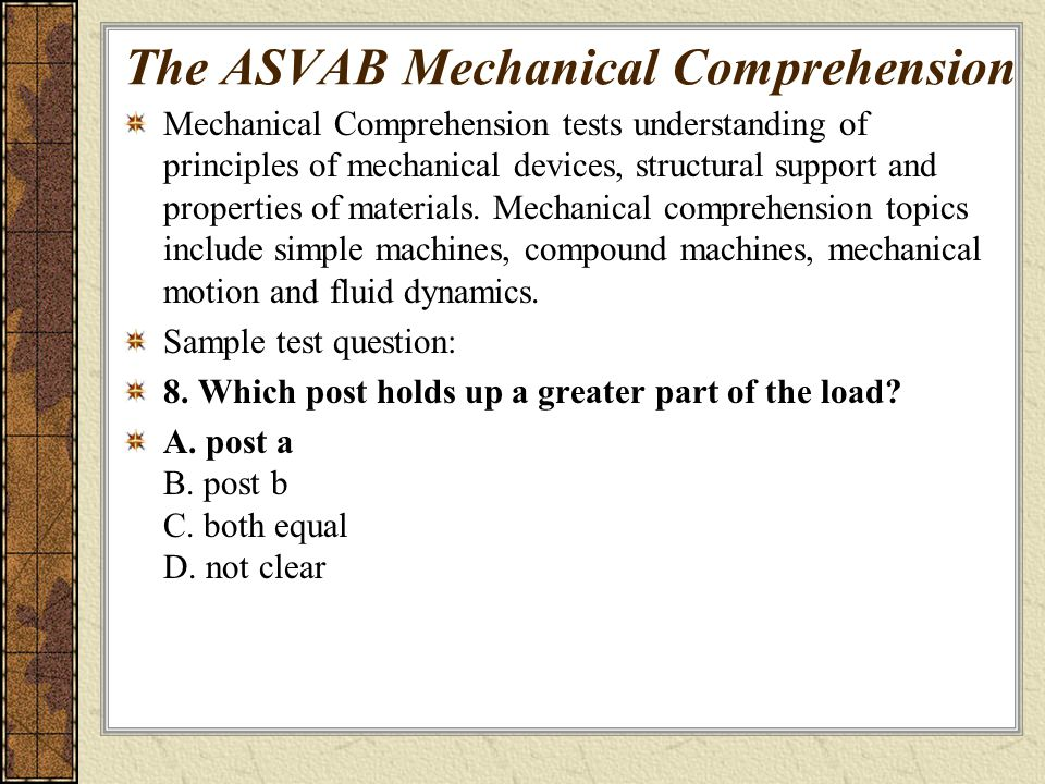 THE ASVAB Armed Services Vocational Aptitude Battery - ppt download