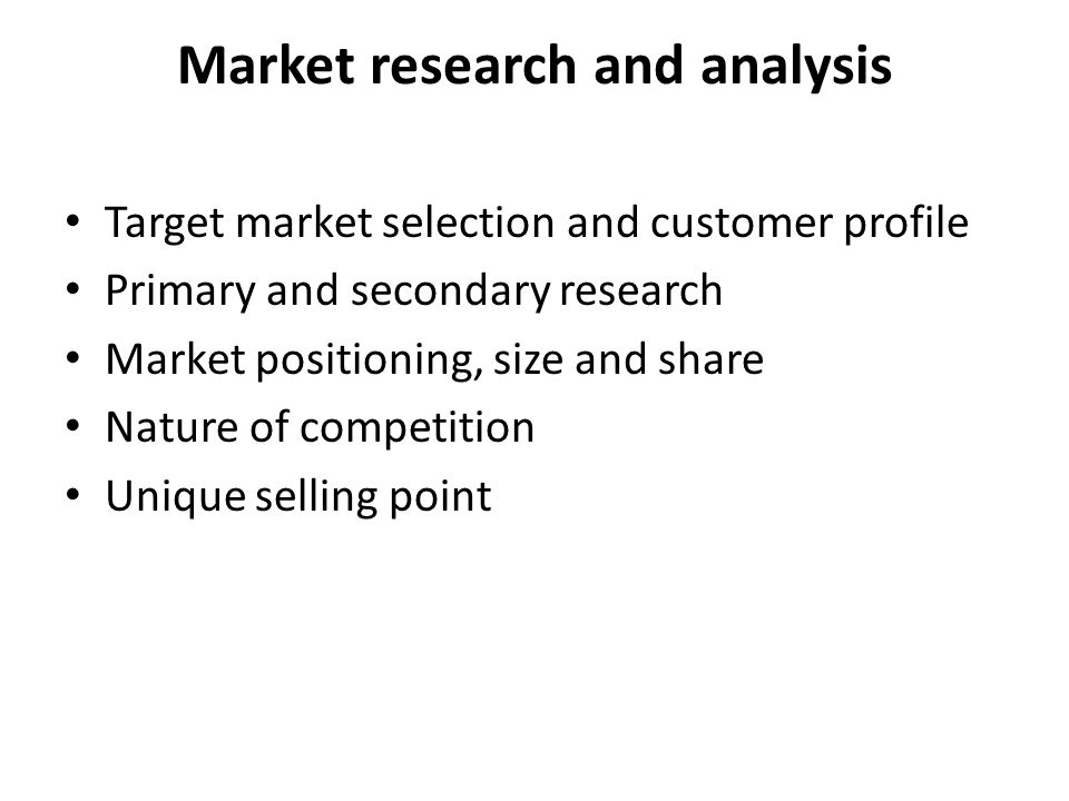 market research and analysis Quantitative market research methods : market research is a systematic, objective collection and analysis of data about a particular target market, competition, and.