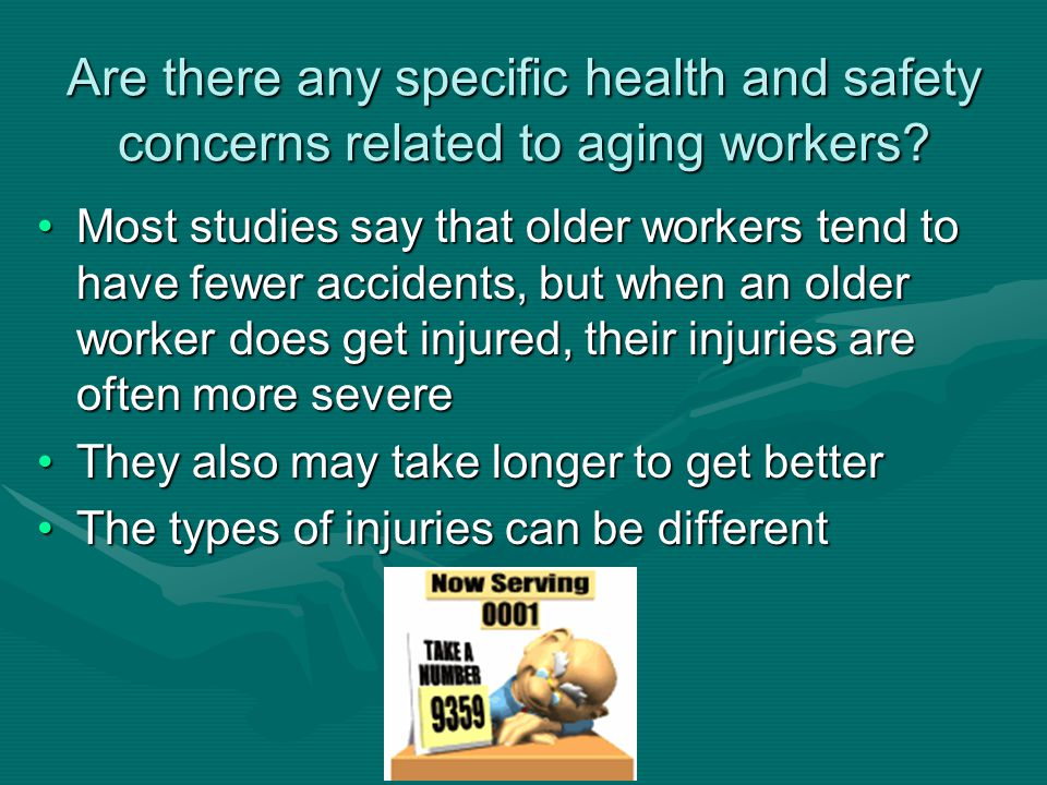 issues of healthcare work and safety for employees Whs (workplace health and safety)  leads the development of national policy to improve work health and safety and workers  (and employees of the.