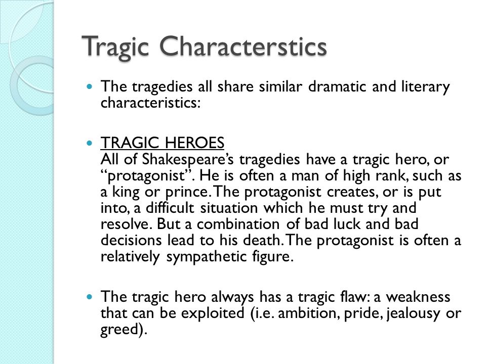 characteristics of shakespearean tragedy pdf