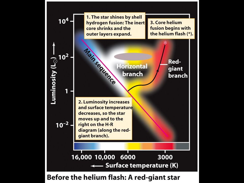 How stars evolve pressure and temperature the fate of the sun ppt 20 movement on hr diagram ccuart Gallery