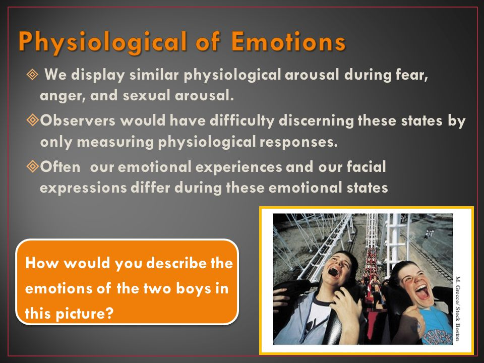 Physiological of Emotions