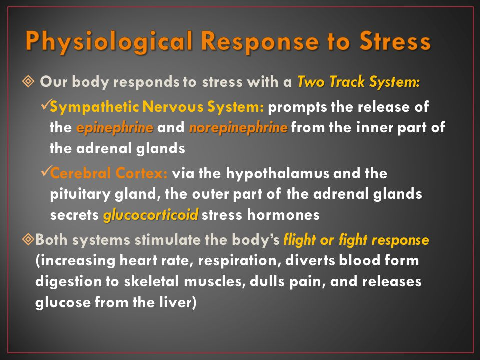 Physiological Response to Stress