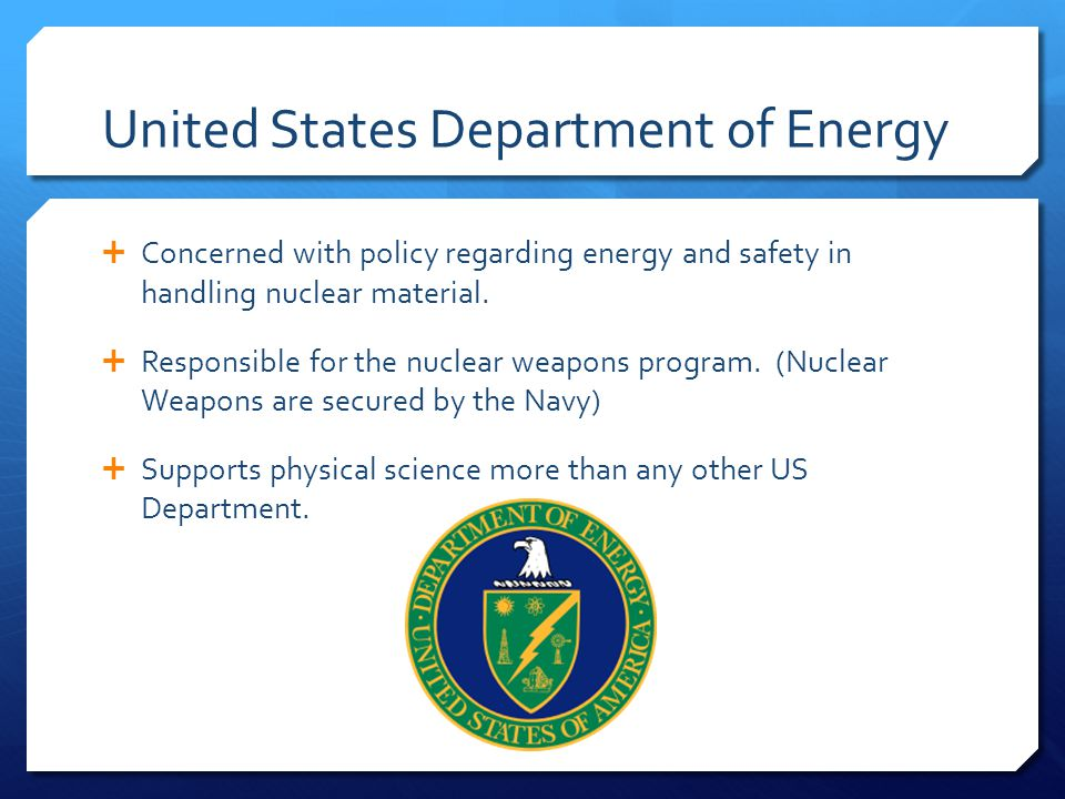 United States Department of Energy