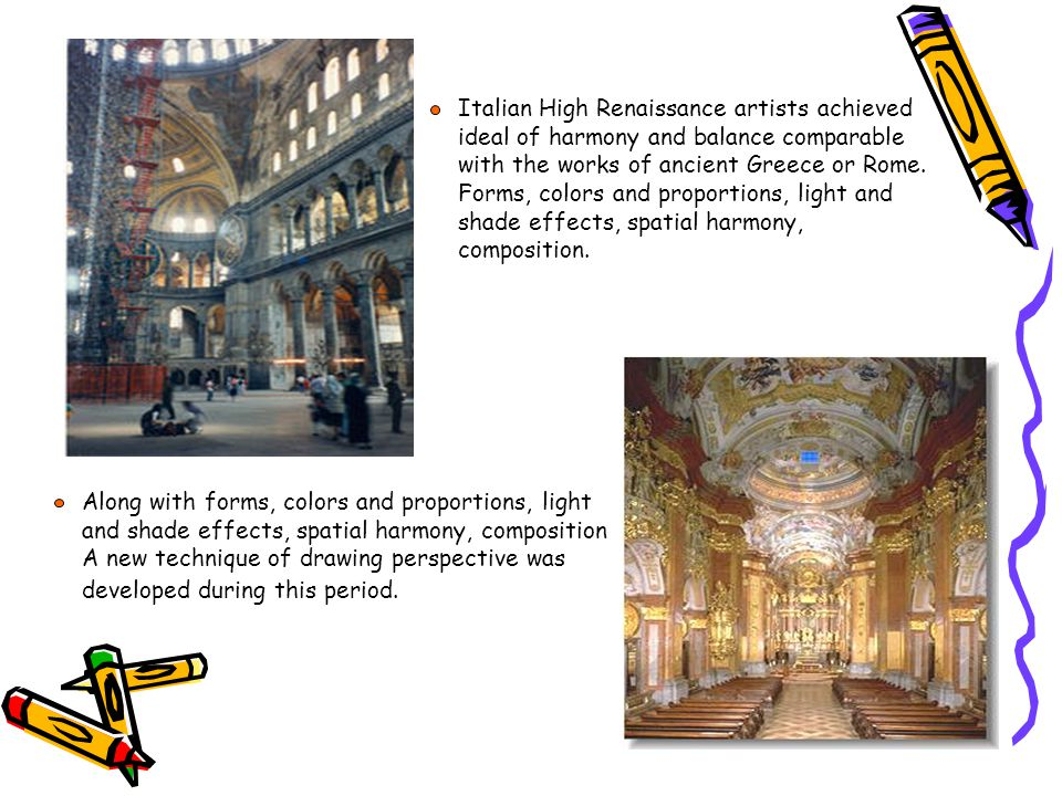 the shaping of renaissance and the artists during the period The early art historian and painter giorgio vasari felt that during the middle ages the artists cimabue and giotto had kept alive the aesthetic principles of classical art with works, which laid the groundwork for the following renaissance.